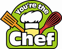 You're the Chef logo