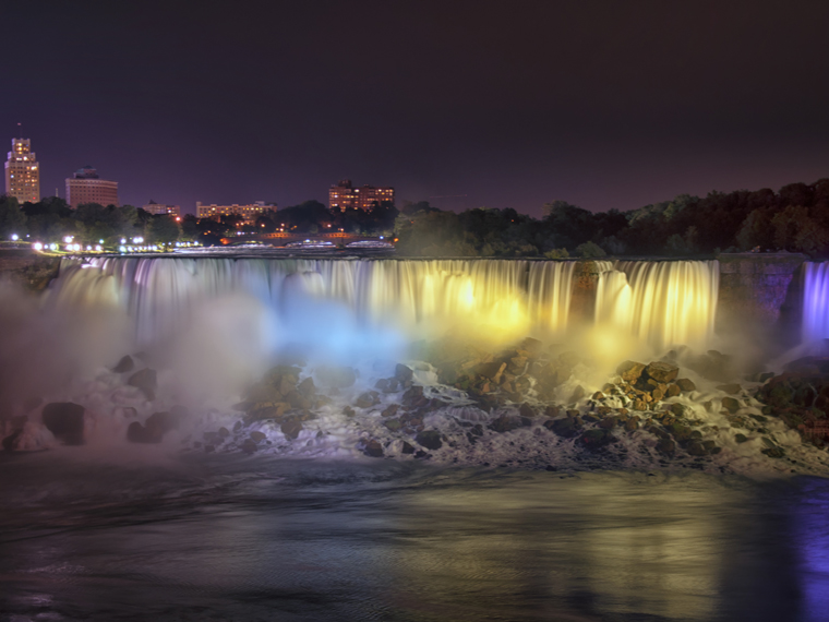 Lights on the Falls