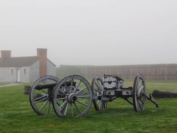 Foggy Day in Fort George
