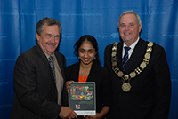 Young People's Award, Secondary Age Category - Varsha Jayasankar, St. Catharines