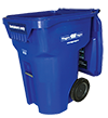 Blue 95 - Gallon Recycling Cart
