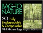 BAG-TO NATURE Compostable Kitchen Bags